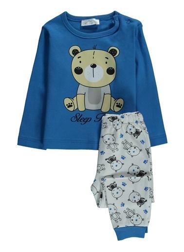 Locopop Pijama Takım Saks